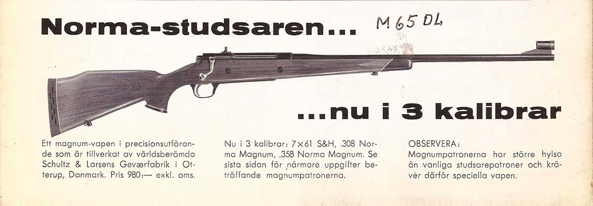 Norma Katalog anno 1966 s.3