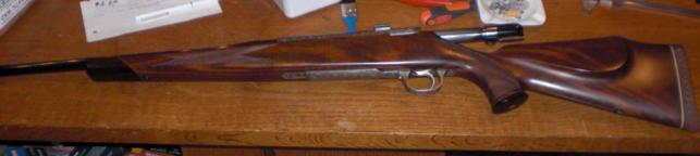 Schultz og Larsen jagtriffel Model 100DL nr. 200570